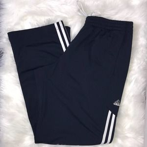 Adidas Women's Navy & White Jogger Sweats M